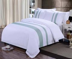 酒店布草 酒店床上用品 色织系列