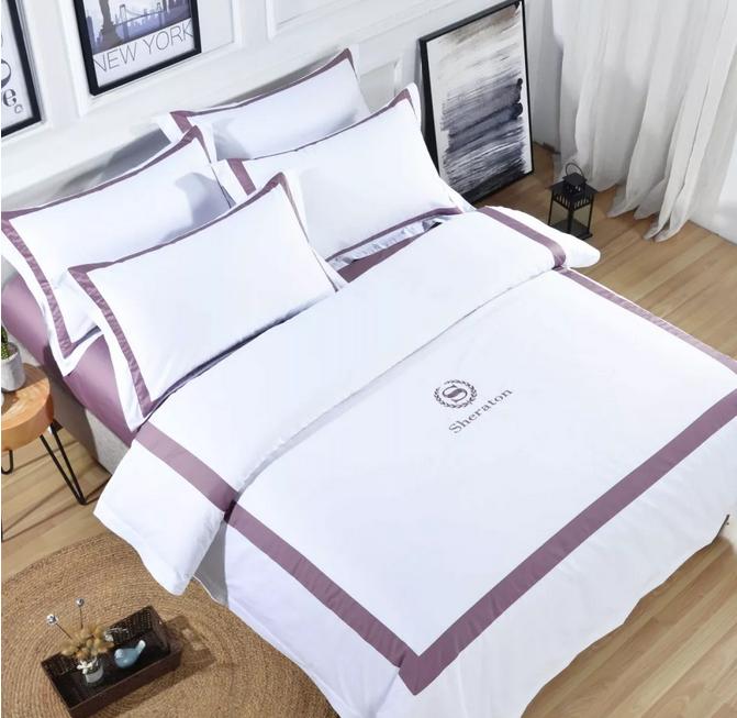 酒店布草 酒店床上用品 色织系列 2