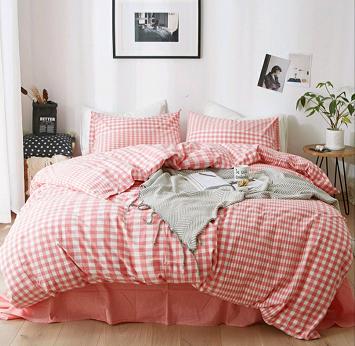 酒店布草 酒店床上用品 色织水洗棉 1