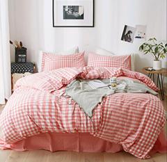 酒店布草 酒店床上用品 色织水洗棉