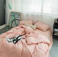 酒店布草 酒店床上用品 色织水洗棉 3
