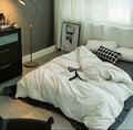 酒店布草 酒店床上用品 色织水洗棉 4
