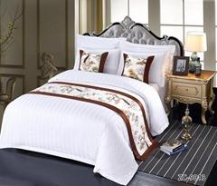 酒店布草 酒店床上用品 床尾巾