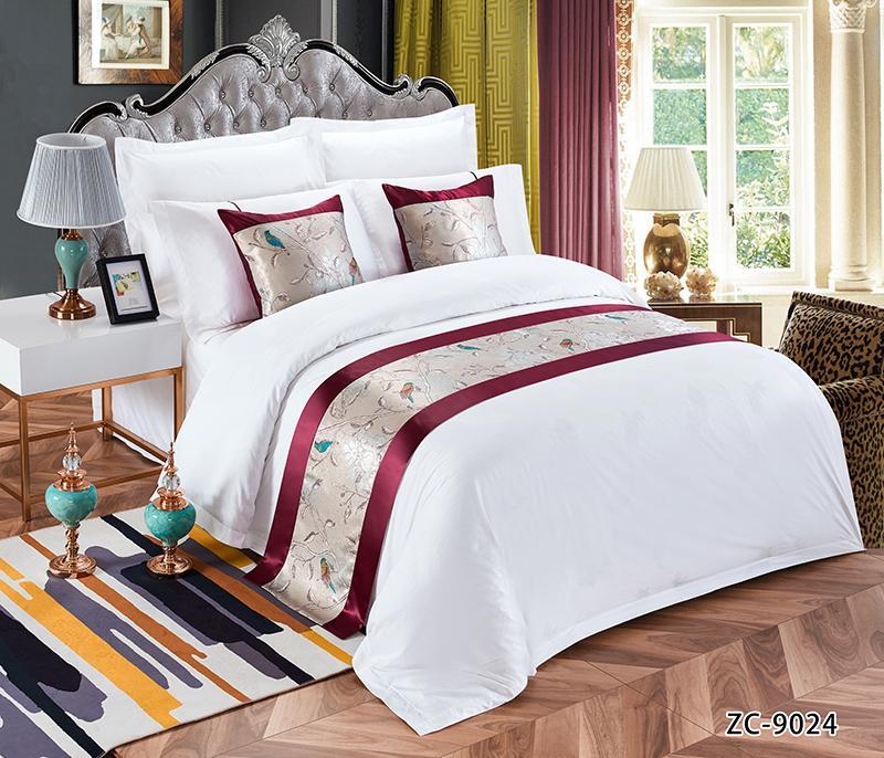 酒店布草 酒店床上用品 床尾巾 4