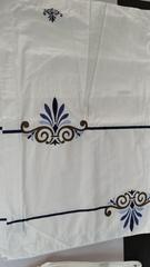 酒店布草 贡缎平纹印花 月满西楼