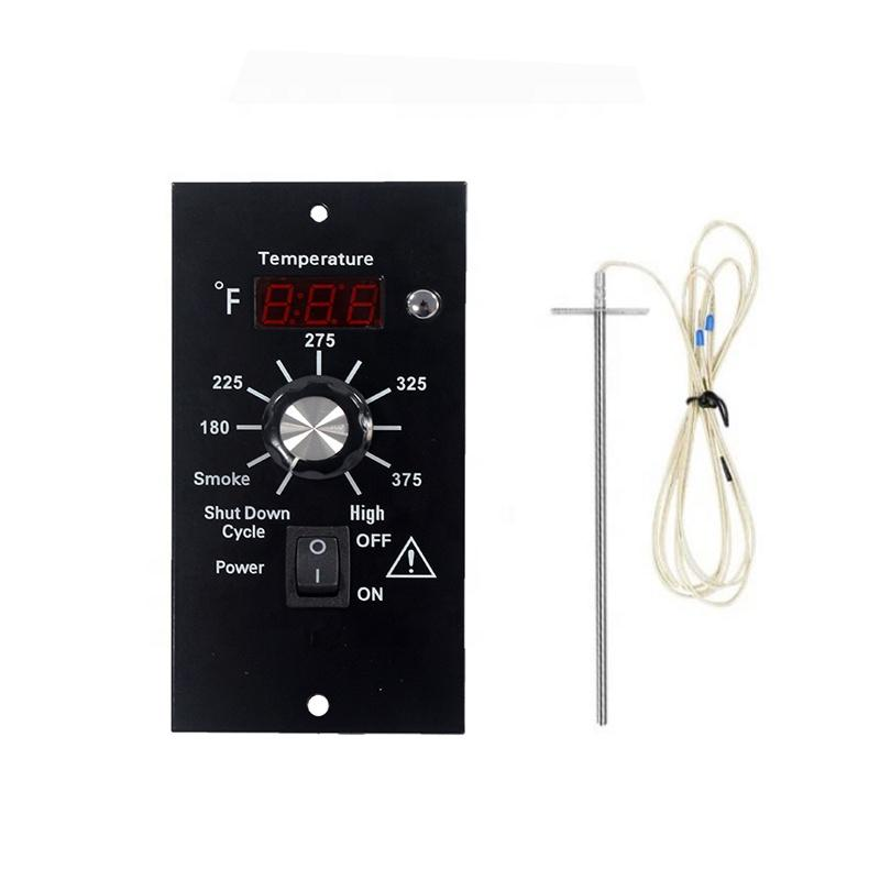 Replacement Digital Thermostat Controller Board Probe for Wood Pellet  2