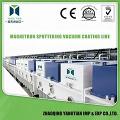 Magnetron Sputtering coating mirror line