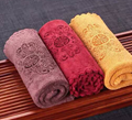 Double layer thickened tea towel Fu