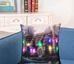 Halloween style home sofa pillow case