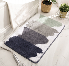 European style Plush bath mat