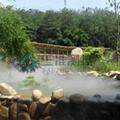 景觀園林假山造景噴霧設備