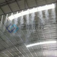 陝西料場車間工廠降塵噴霧設備