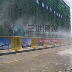 陝西工地降溫降塵圍擋噴霧系統