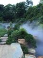 張家界景觀園林假山高壓人造霧設