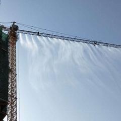 山西工地降溫降塵圍擋人造霧設備