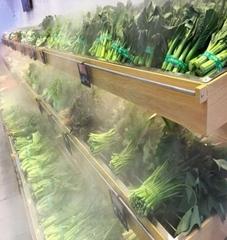鄭州超市餐廳蔬果保鮮超聲波噴霧設備