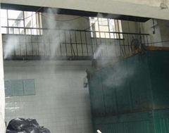河南垃圾中轉站降溫降塵除臭高壓噴霧設備