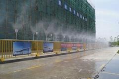 园林社区喷雾造景喷雾降尘设备