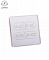 Hotel Touch Screen Light Switch T-LS-4-4