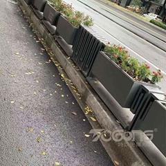 戶外景觀不鏽鋼花盆花箱廠家定製