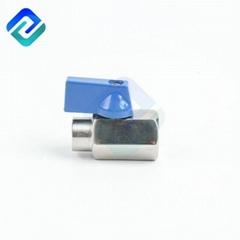 Hot Selling Stainless steel304 and 316 threadBSP MINI exagonal ball valve