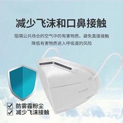 廠家現貨KN95民用口罩防塵防護防病毒