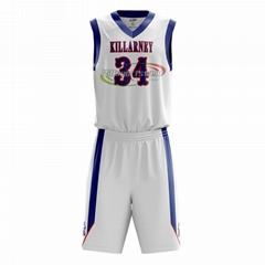 Custom basketball jersey sublimation printing basketball uniforms set