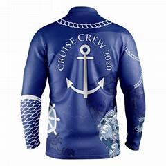 Custom design sublimated fishing jersey
