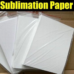A3/A4 Fast Dry Sublimation Paper 100gsm High Transfer Rate