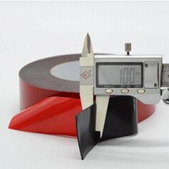 Double Sided Acrylic Sponge Sealing Black Fingerboard Foam Tape .5mm