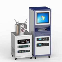 laboratory two-target RF magnetron co-sputtering machine for multi-layer