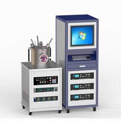 vacuum PVD 3-target RF magnetron co-sputtering coater