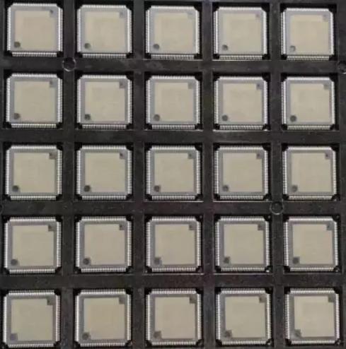 IC芯片打磨喷油刻字编带激光打字 1