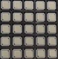 IC芯片打磨喷油刻字编带激光打