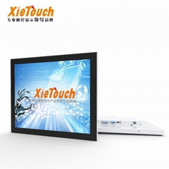 Customized Xietouch IP65 Capacitive Touch Screen Panel 17 inch TFT LCD Computer