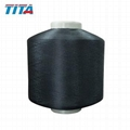Polyester twisted yarn FDY 200/36/120TPM for sewing