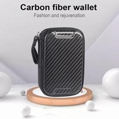 RFID Blocking Multifunction Real carbon fiber card bag