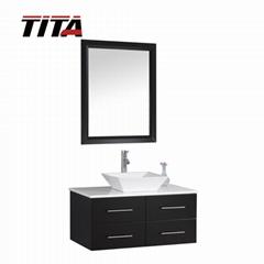 Capacious Wall-Mounted Bathroom Cabinet Sets T9152-36E