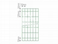 Highly durable Holland welded wire mesh PVC coated green color euro fence