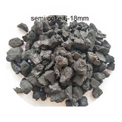 High Quality Semi Coke with High Fixed Carbon