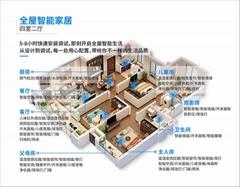 深圳小洁智能远程家居全屋智能定制智能安防