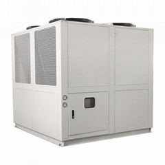 Diary Product 500 ltr Milk Chiller Air Cooled Chilling System Machine