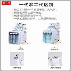 韩国二代氢氧小气泡超微清洁仪注氧仪多功能吸黑头补水综合美容仪