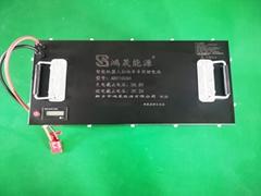 48V100AH锂电池组扫地机,电瓶式工业吸尘器用,河北锂电池厂家