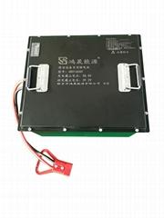 48V165AH锂电池组,扫地机,工业吸尘器用,江苏鸿晟锂电池厂家