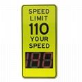 車速反饋標誌牌