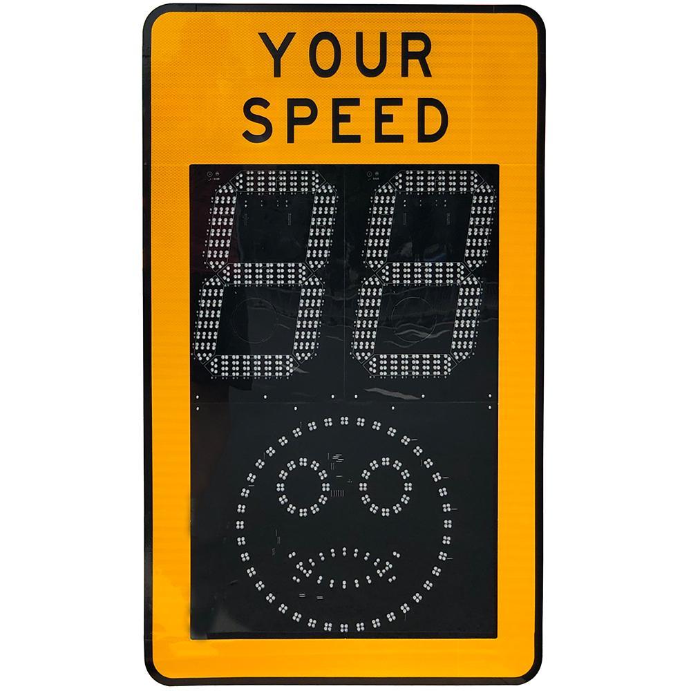 Radar speed sign 2