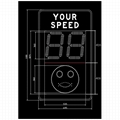 Radar speed sign 3