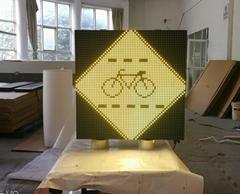 Traffic led sign