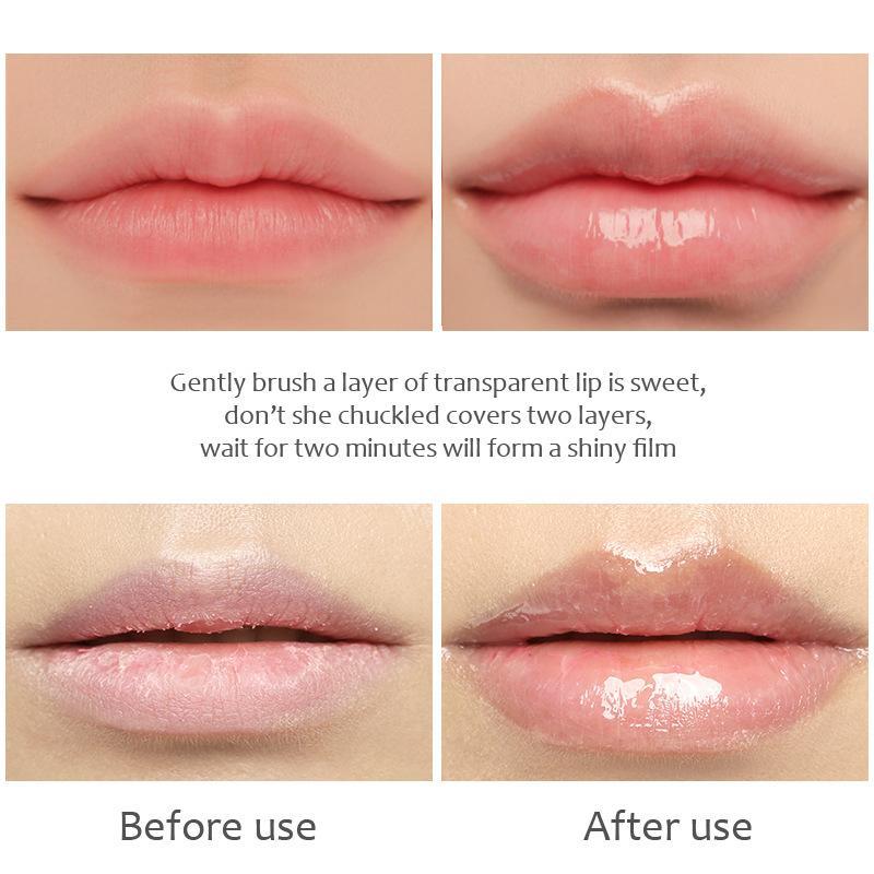 Organic Fruit flavored Vitamin Hydrating Moisturizing Long Lasting Berry Lip Oil 4